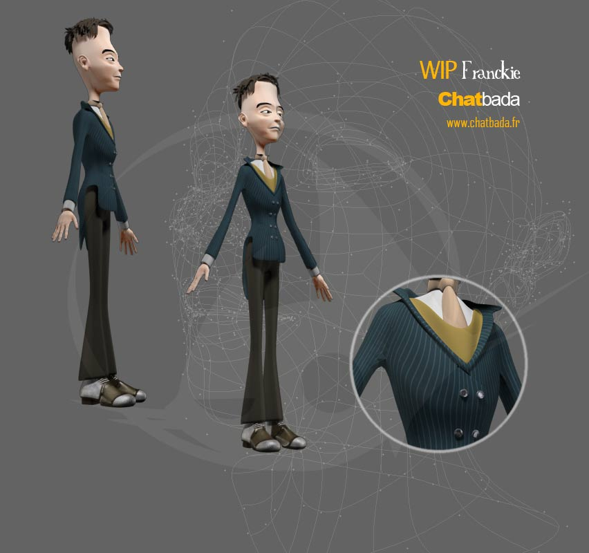 Frankie, Character design costumes